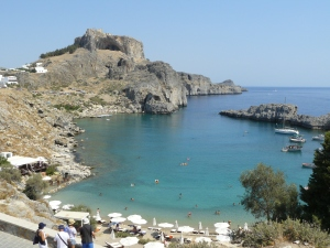 View in Rhodes