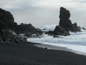 Black sand beach Snaefellsnes
