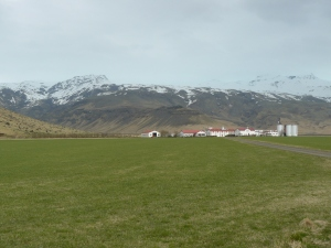 Farm by Eyjafjallajokull
